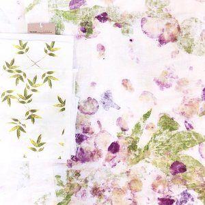 Sarah Blythe - floral textiles www.sarahblythe.com
