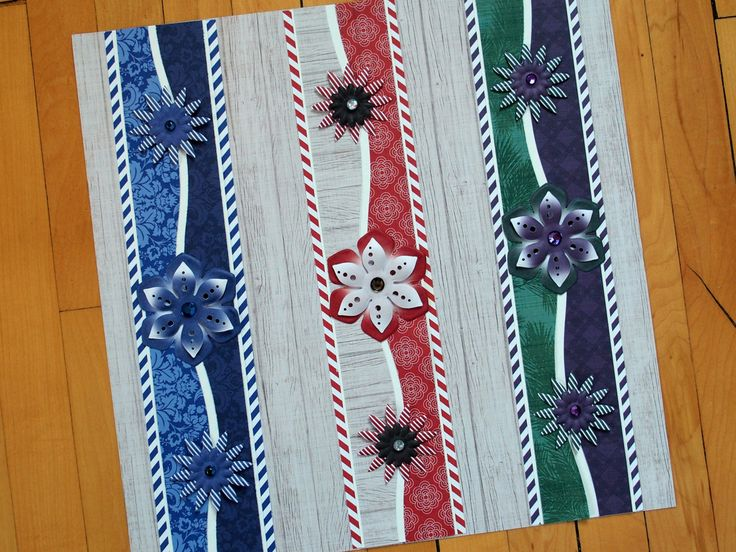 Borders made with the Creative Memories new Mix and Match collection