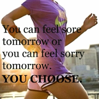 i choose sore. nearly every time. including yesterday. (ooowwwchhh.)