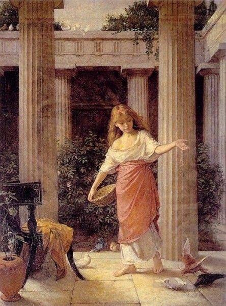 Peintre célèbre- John William- Waterhouse