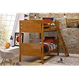 Woodcrest 8000KD Scored Bunk Bed Twin Honey deals week