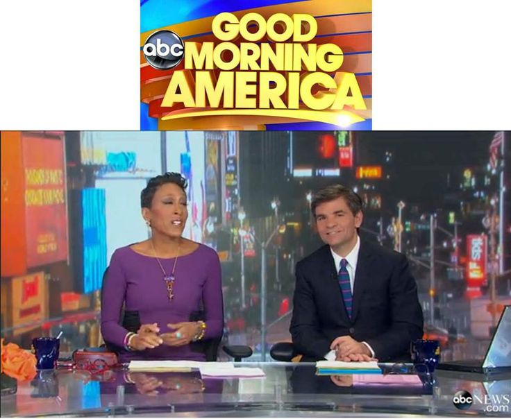 Good Morning America co-host, George Stephanopoulos adds our Road Horizontal Stripe tie to his on-air attire. www.TheTieBar.com