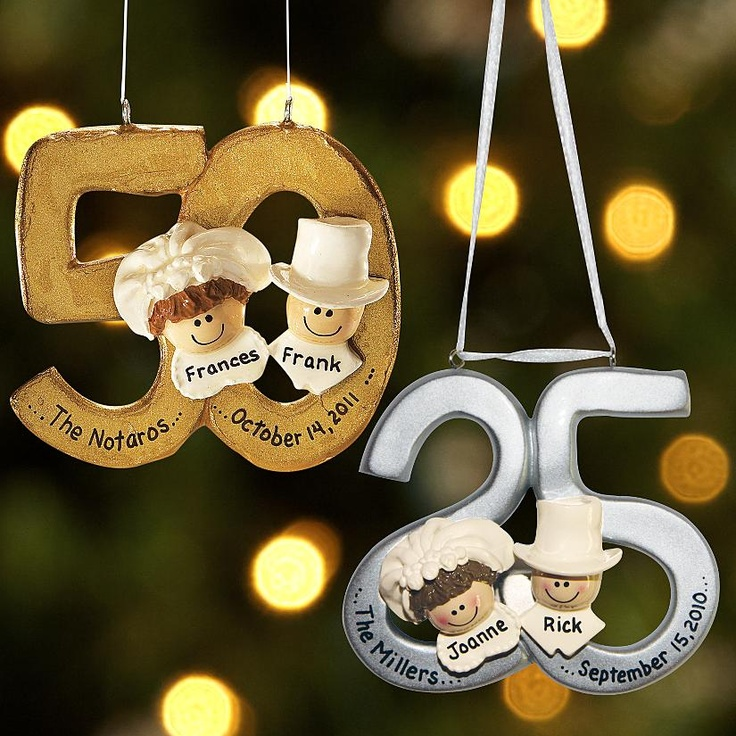 50th Wedding Anniversary Ornaments  Tbrbinfo
