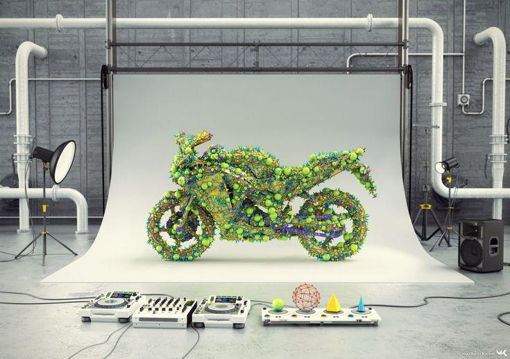 3D Graphic / 3D Illustration