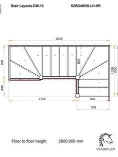 Best Tradestairs Lh Double Winder Hr Stairway Design Stairs 400 x 300
