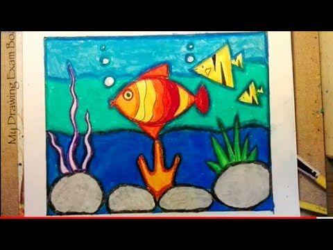 Simple Drawings For Kids Kids Art Easy Underwater Scene