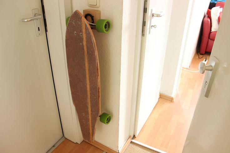 Longboard-Halterung DIY