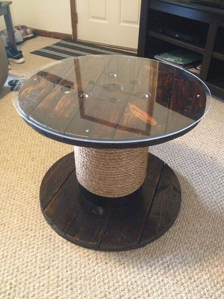 Marvelous Diy Recycled Wooden Spool Furniture Ideas For Your Home No 41