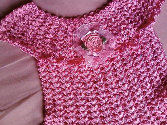 -Vestido infantil em croche | ARTE DAS MAOS BY CIDA - RUTHE | 9BB0B ...