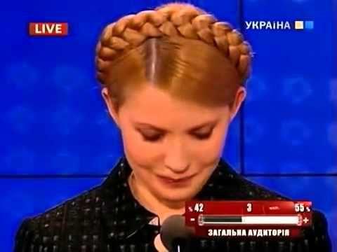 Как Богословская опустила Тимошенко 23 04 2010 старый хит