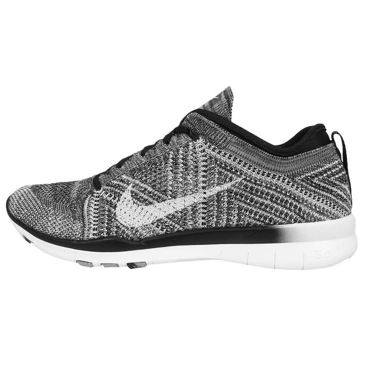 Wmns Nike Free TR Flyknit Black White Grey Womens Cross Training Shoes  Sneakers http:/