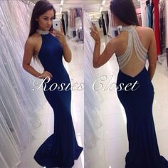 Prom dress Blue Long Debs dress Ireland