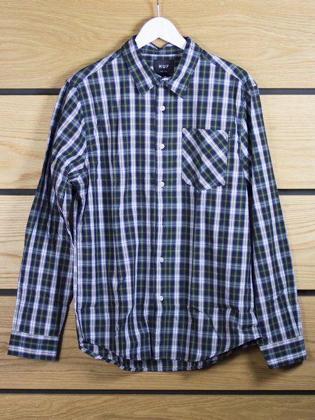 HUF HUF Scotch Button Up Shirt WAS: £65 - NOW 25% OFF £48.75 (€56.06)