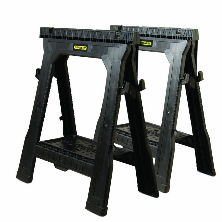 Stanley 060864R Folding Sawhorse (2-Pack) - Power Tool Stands - Amazon.com