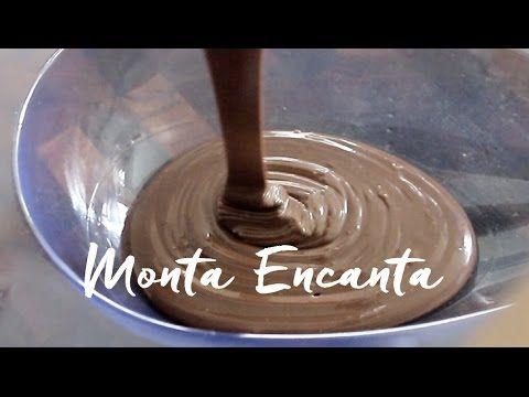 Trufas de Chocolate recheadas - Monta Encanta
