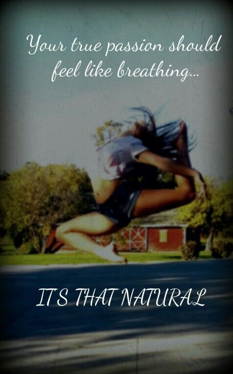 It's that natural... <3