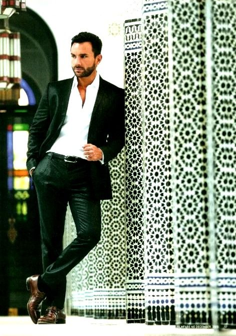 Saif Ali Khan. Dude, he IS royal.
