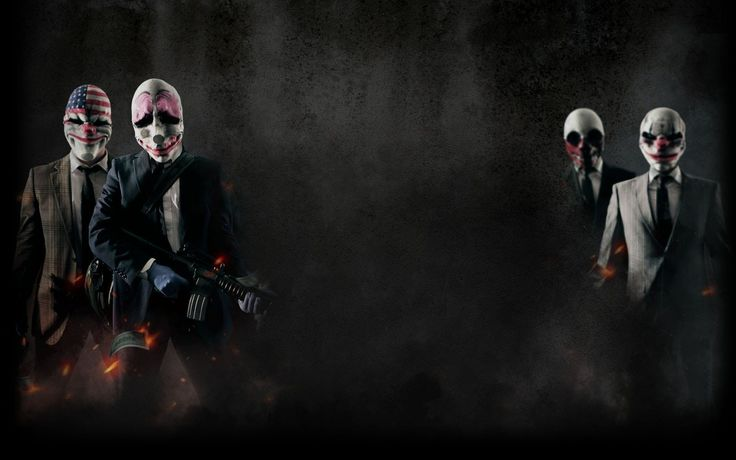 Payday The Heist Wall Poster