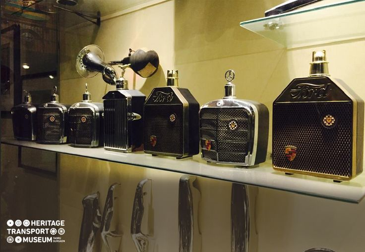 Take a look at the collection of #Decanters displayed inside the #accessories showcase of the #museum. :)