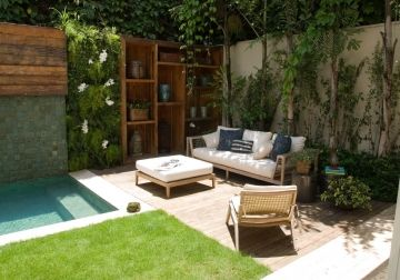 lovely small area with plunge pool
