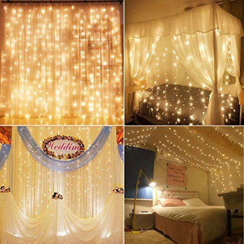 Best Led Curtain Lights Ideas On Pinterest Fairy Light - Curtain lights for bedroom