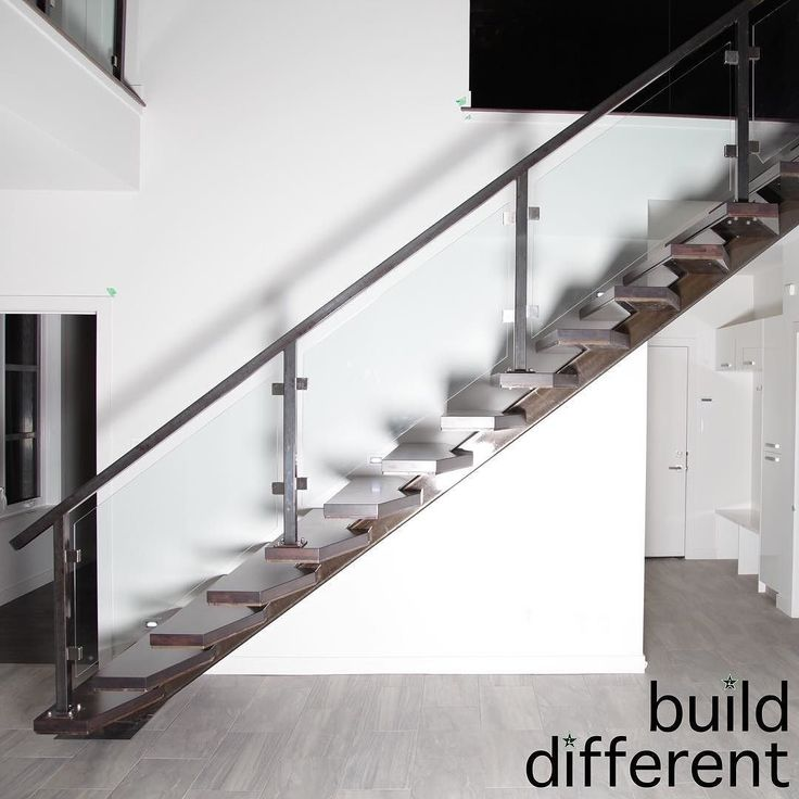 A spineless staircase is something that DOES happen when you #BuildDifferent.  #YQR #ModernHome #CustomBuild #CustomHomes #quality #modern #original #home #design #imagine #creative #style #realestate #trueoriginal #dreamhome #architecture #dreamhomes #interior #YQRbuilds #construction #house #builder #homebuilder #showhome #beautiful #preparation #engagement #dream #DamnGoodHouses
