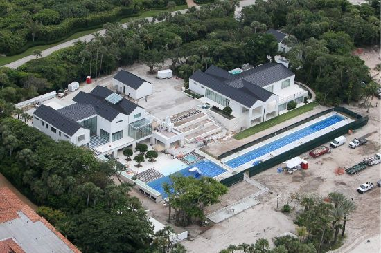 Celebrity Swimming Pools Tiger Woods 39 Swimming Pool