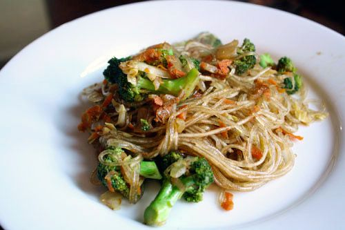 Chinese Five-Spice Noodles with Broccoli: I made this last weekend and I liked it so much, I'm making it again