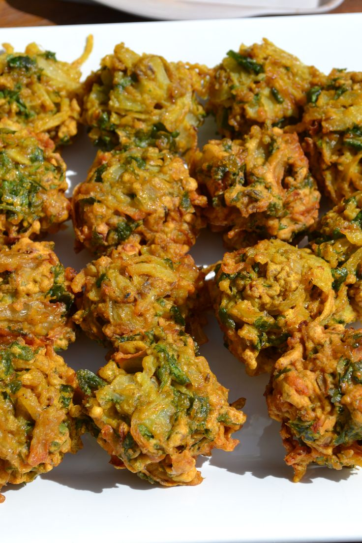 Onion Bahjis at Myrtle Bakes, a great lunch time snack. #myrtlebakes