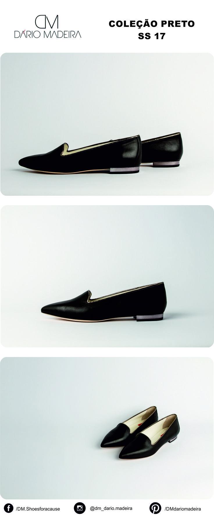 Sapato Raso - Linha Preto | SS17 | DM - Dário Madeira  Sapato de Senhora | Shoes for a cause | Calçado Português | Portuguese Shoes | Made In Portugal