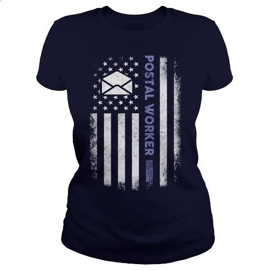 Postal Worker - #gift for girlfriend #gift for men. ORDER NOW => https://www.sunfrog.com/Jobs/Postal-Worker-100154696-Navy-Blue-Ladies.html?60505