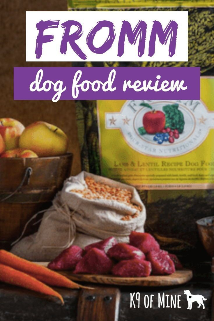 Pin by Puppy Love Me on Fromm Dog Food Dog food reviews