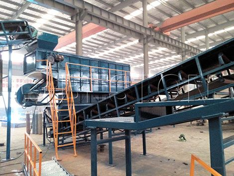 The solid waste management plant manufactured by Beston company can be used to divide municipal solid waste into several parts and further process waste.