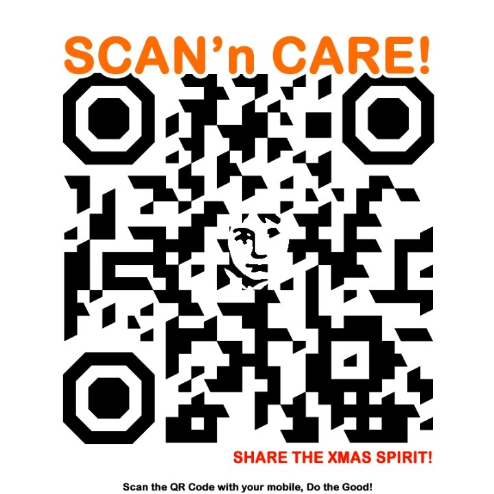 Show you care, scan and share