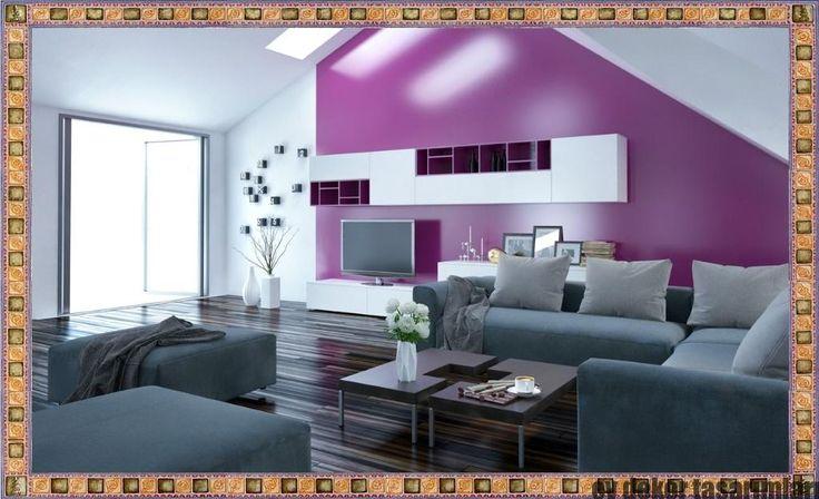 Yeni Trend Oturma Odası Duvar Renkleri