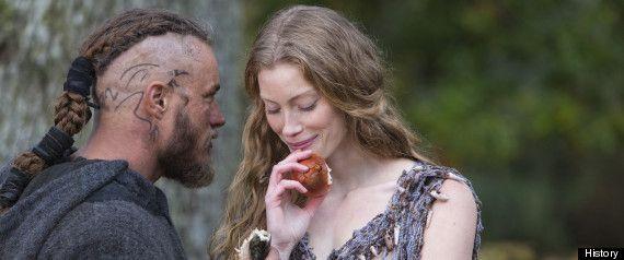 Ragnar Lothbrok Hair | Vikings' Season Finale: Michael Hirst Talks Season 2 And The ...