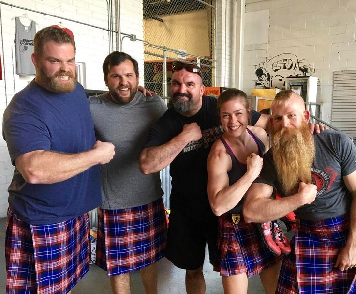 Grown ass men wear skirts. @mckimdaniel and his team at the Spartan Ultimate Team Challenge filming at @crossfitnorthatlanta #grownassman #cockdiesel #grownassmaam #spartanultimateteamchallenge