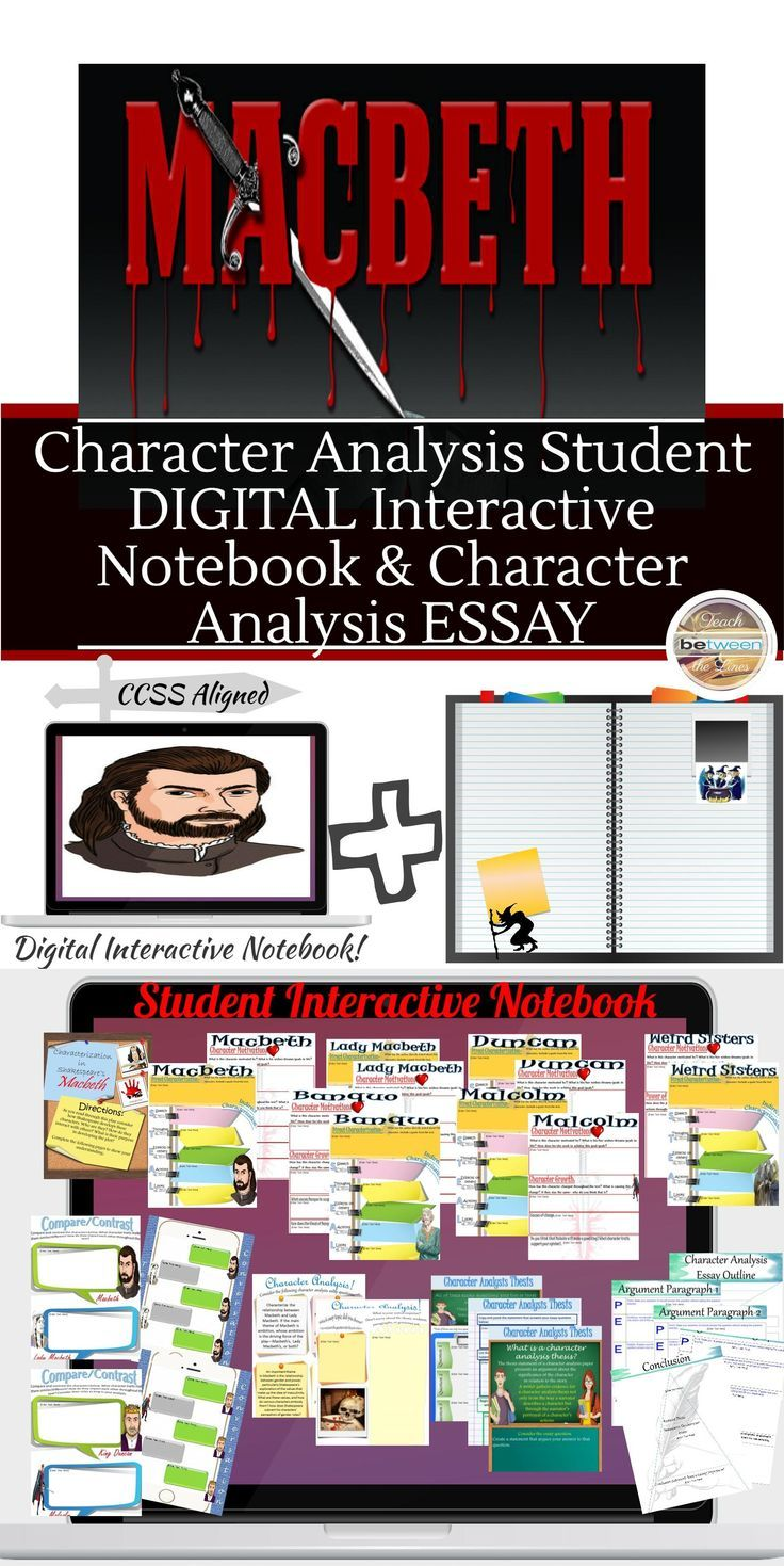 die besten ideen zu macbeth analysis auf shakespeare s macbeth character analysis digital and printable