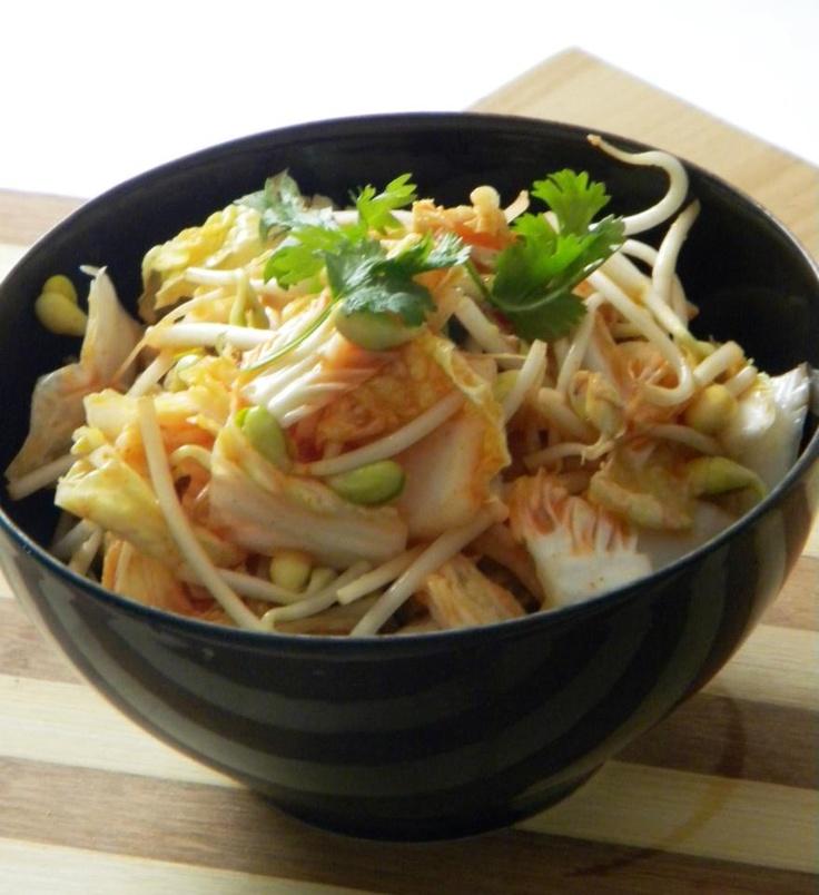 Crunchy Napa Cabbage Asian Slaw With Sugar Snap Peas, Radishes ...