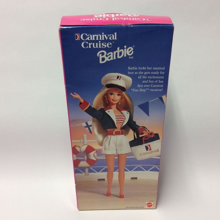 Vintage Barbie Doll - 1997 Carnival Cruise Special Ed 15186 Boxed Sealed | eBay