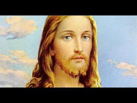Jesus S Blonde Hair And Blue Eyes Youtube Blue Eyes Blonde