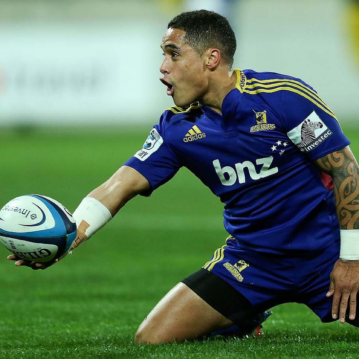 Super Rugby Round 19 | The Highlanders' Aaron Smith celebrates his try. | Photo: Getty Images/ ESPN Scrum