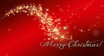 Natal, Star, Ouro, Vermelho, Luzes