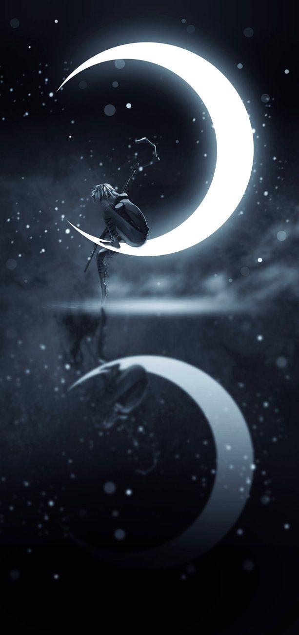 Jack Frost by Wintfox make glow in the dark moon shirt                                                                                                                                                                                 Mais