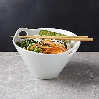 """Kai 8"""" Noodle Bowl with Chopsticks"""