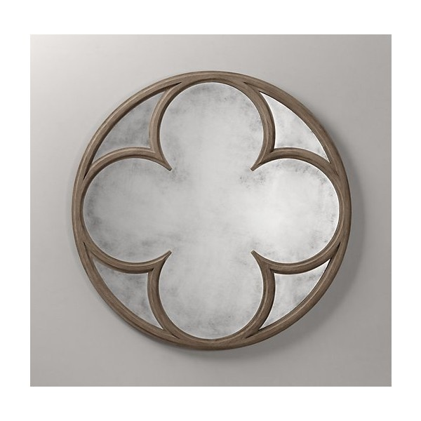 Gothic Quatrefoil Mirror ($450) ❤ liked on Polyvore