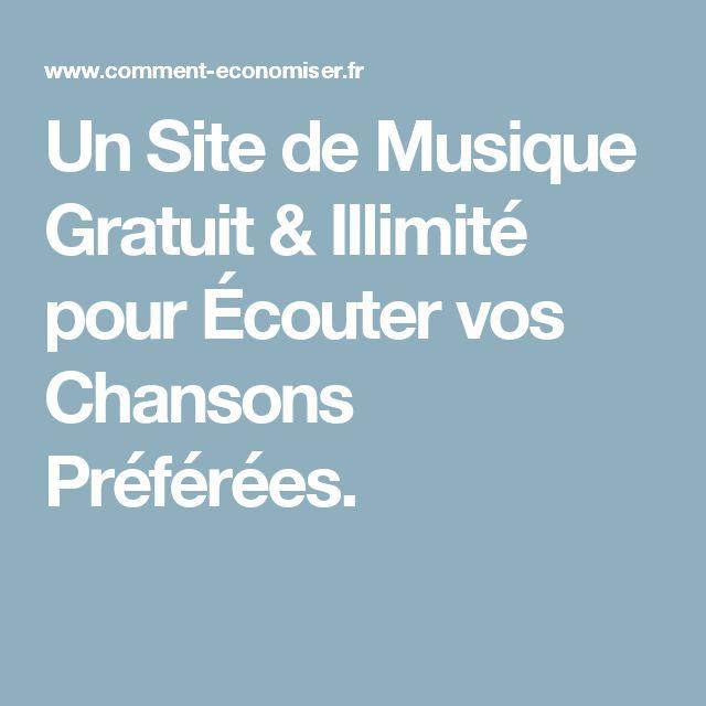 Un Site de Musique Gratuit & Illimité pour Écouter vos Chansons Préférées.
