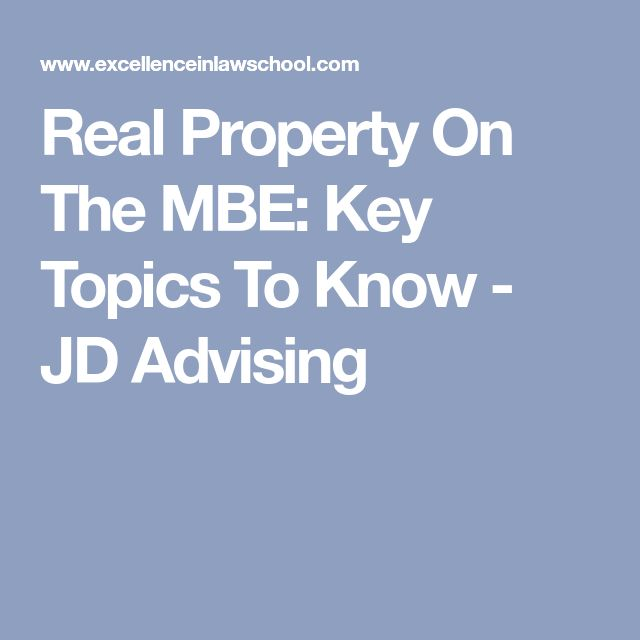 MPT Formats Attack Outlines For Each Type Of MPT JD Advising