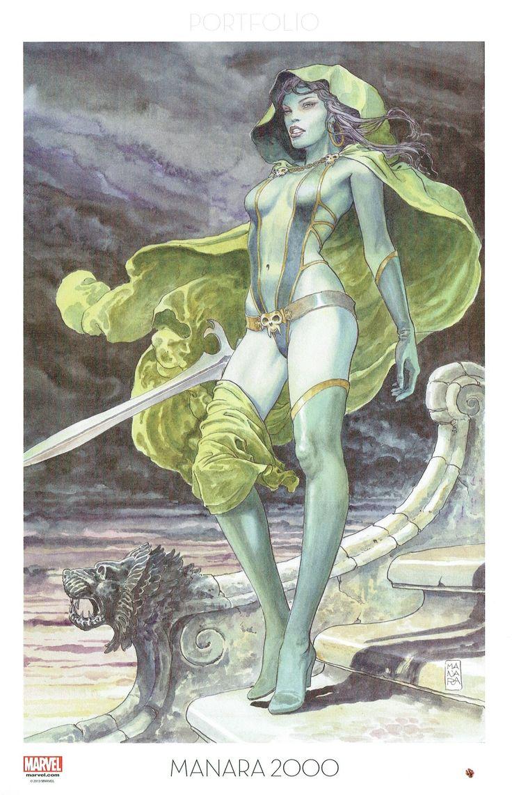 Milo Manara - Vol. 9, Manara 2000-200 (Guardians of the Galaxy, 2013)