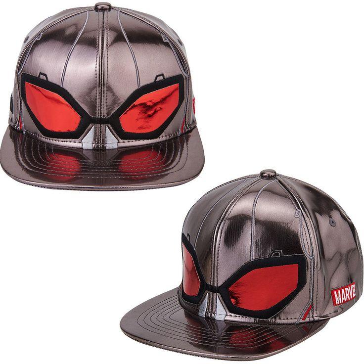 Mens Womens Marvel Avengers Civil War ANT-MAN Mask Baseball Snapback Hats Caps #Marvel #BaseballHiphopHatCap